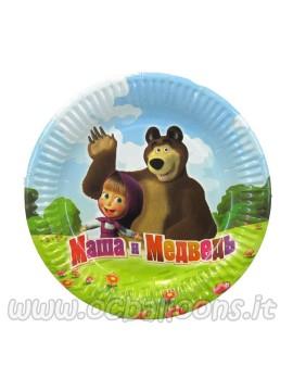 Piatti Masha e Orso Piccolo