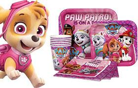 Festa di compleanno Paw Patrol Bambina