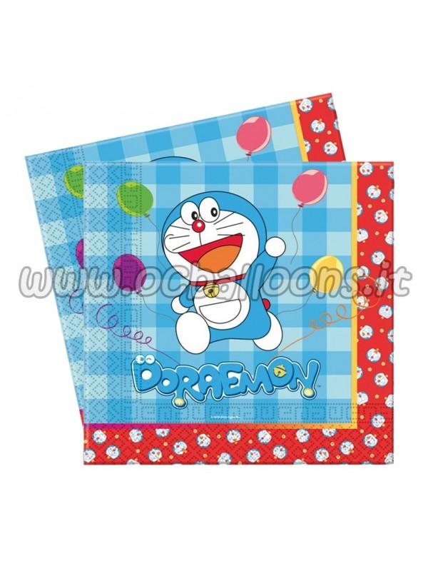Tovaglioli Doraemon 33x33 20pz