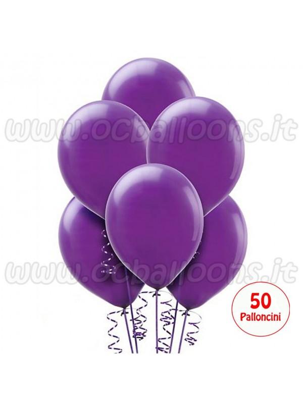 Palloncini Viola 50pz