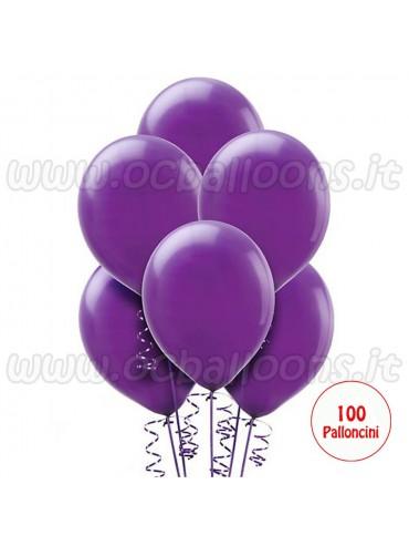 Palloncini Viola 100pz