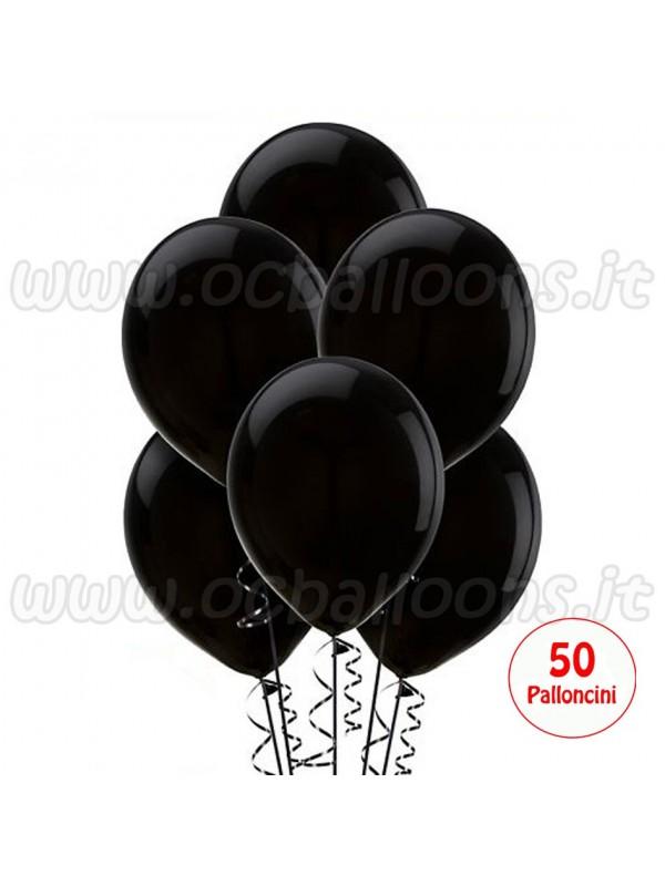 Palloncini Nero 50pz
