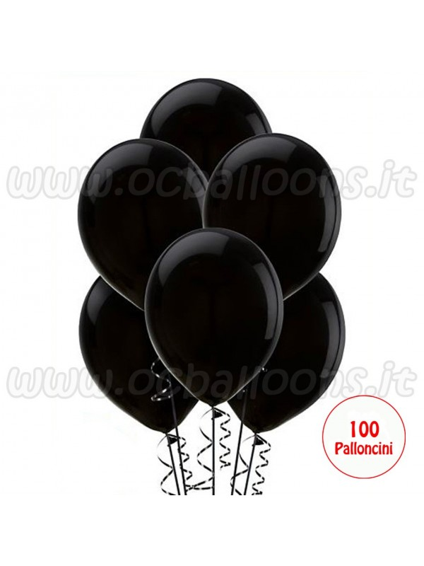 Palloncini Nero 100pz