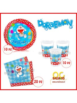 Set Compleanno Doraemon