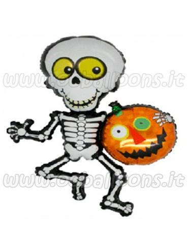 Palloncino Halloween Scheletro