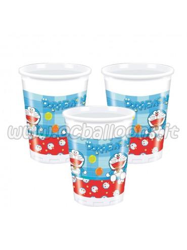 Bicchieri Doraemon 20o cl  10pz