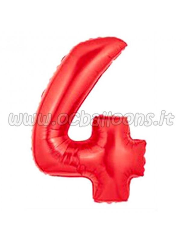 Palloncino Numero 4