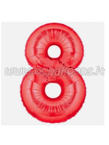 Palloncino Numero 8