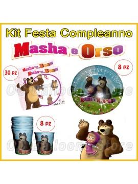 Set Compleanno Masha e Orso
