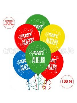 Palloncini  Auguri 50 pz