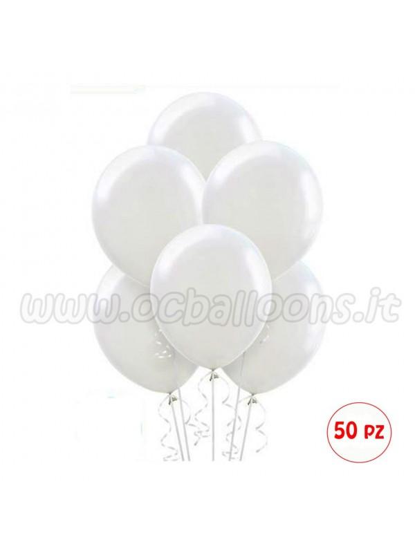 Palloncini Bianchi 50pz