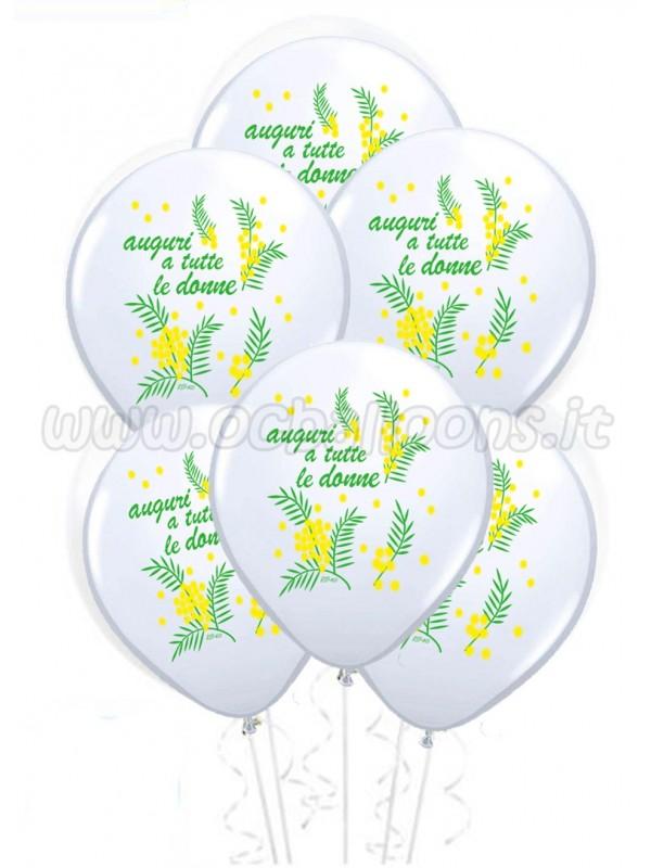 Palloncini  Festa dell Donna 25pz