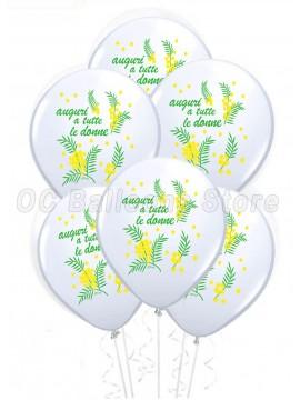 Palloncini  Festa dell Donna 100pz