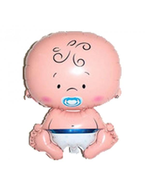 Palloncino nascita/battesimo bimbo azzurro