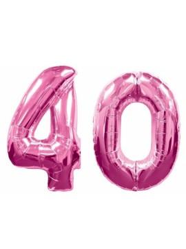 Palloncini 40 anni numero
