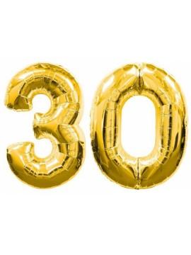 Palloncini 30 anni numero