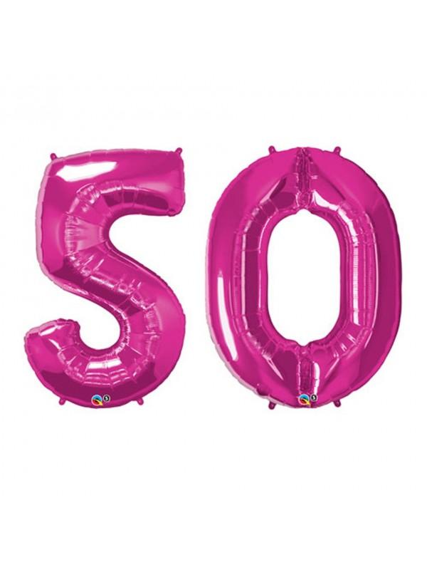 Palloncini 50 anni numero