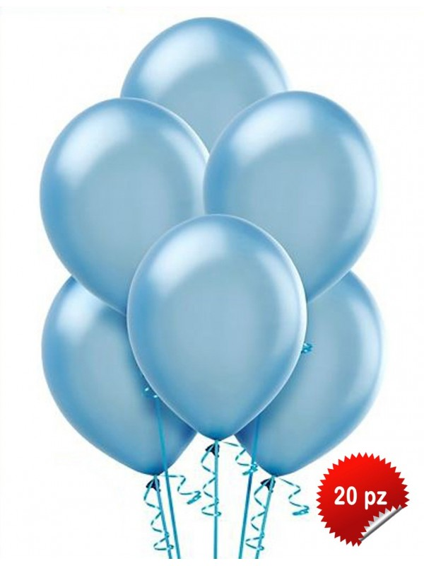 Palloncini Azzurro 20pz
