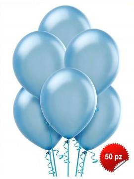 Palloncini Azzurro 50pz