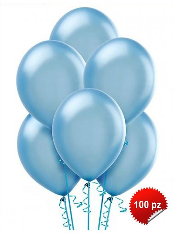 Palloncini Azzurro 100pz