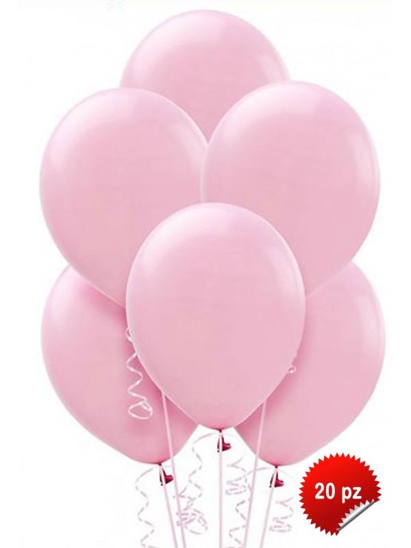 Palloncini Rosa 20pz