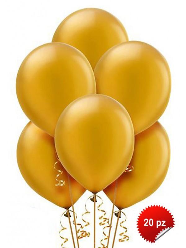 Palloncini Oro 20pz