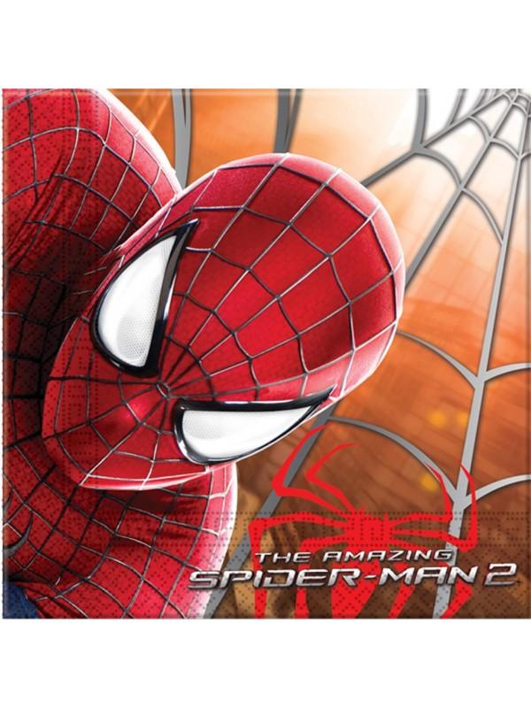 Tovaglioli Spiderman 33x33 20pz