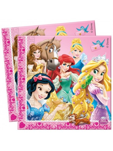 Tovaglioli Principesse Disney  33x33 20pz