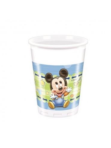 Bicchieri Topolino Baby 200 cl  8pz