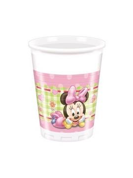 Bicchieri Minnie Baby 200 cl  8pz