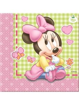 Tovaglioli Minnie Baby  33x33 20pz
