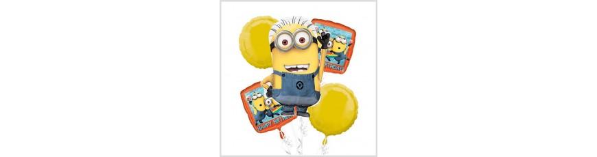 Palloncini per Bambini Masha e Orso Minions Paw Patrol Inside Out - Palloncini per Compleanno a Tema