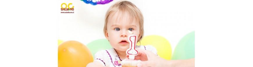 Festa 1° Compleanno - Addobbi e Decorazioni per Primo Compleanno- Festa 1° Compleanno-