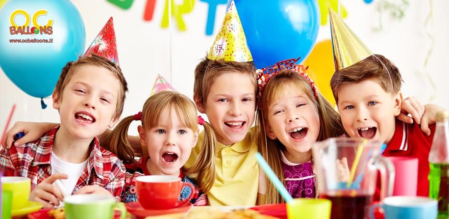 Addobbi e decorazioni per la festa a tema dei tuoi bambini