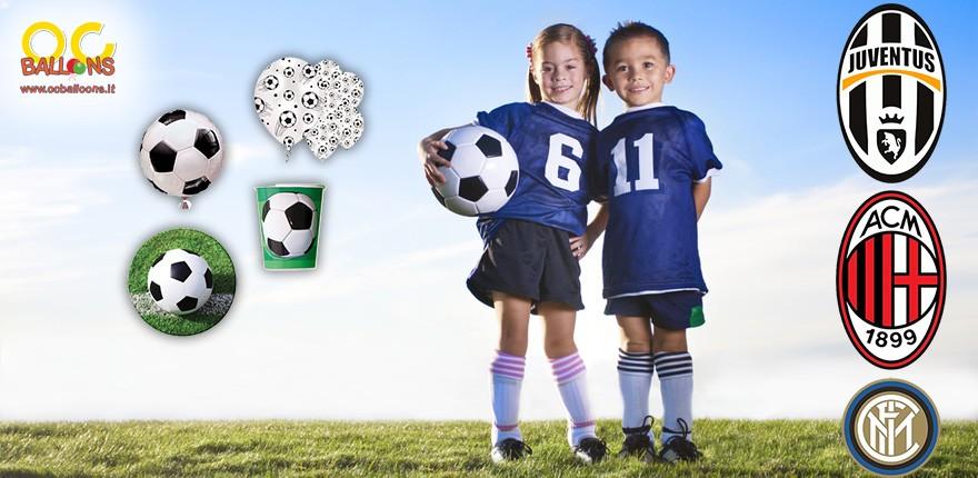 Festa a Tema Calcio - Coordinati per festa a tema Calcio